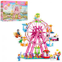 Sluban Girls Dream Constructor Sky Wheel
