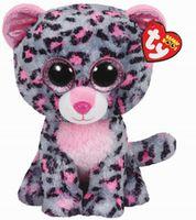 Ty Tasha Pink/Grey Leopard (TY37038)