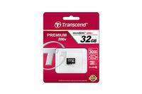 32GB MicroSDHC Transcend TS32GUSDC10, Class 10, 200X