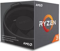CPU AMD Ryzen 3 1300X (3.5-3.7GHz, 4C/4T, L2 2MB, L3 8MB, 14nm, 65W), Socket AM4, Box