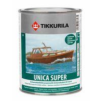 Tikkurila Лак Unica Super Полуматовый 0.9л