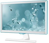 """21.5"""" SAMSUNG """"S22E391H"""", G.White/Blue (PLS, 1920x1080, 4ms, 250cd, LED Mega-DCR, HDMI+D-Sub) (21.5"""" PLS W-LED, 1920x1080 Full-HD, 0.248mm, 4ms (GtG), 250 cd/m², Mega ∞ DCR (1000:1), 16.7M, 178°/178° @CR>10, D-Sub + HDMI, HDMI Audio-In, Headphone-Out, External Power Adapter, Fixed Stand T-Sape (Tilt -2/+15°), Magicbright, Magicupscale, Eco saving plus, Eye saver mode, Flicker free, Game mode,  Glossy-White and Light Blue Touch Of Color T-shape Stand)"""