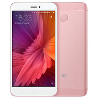 "5.0"" Xiaomi RedMi 4X 16GB Pink Gold 2GB RAM, Qualcomm Snapdragon 435 Octa-core 1.4GHz, Adreno 505, DualSIM, 5"" 720x1280 IPS 296 ppi, microSD, 13MP/5MP, LED flash, 4100mAh, FM, WiFi, BT4.2, LTE, Android 6.0.1 (MIUI8), Infrared port, Fingerprint"