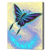 Фантастическая бабочка, , 30x40 см, aлмазная мозаика