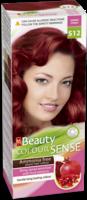 Vopsea p/u păr, SOLVEX MM Beauty Sense, 125 ml., S12 - Roșu rubiniu