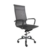 Офисное кресло 501 черная сетка