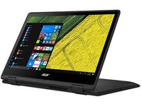 "ACER Spin 5 Obsidian Black (NX.GR7EU.013) 2-in-1 Tablet PC 360°, 13.3"" TOUCH FullHD (Intel® Quad Core™ i5-8250U 1.60-3.40GHz (Kaby Lake R), 8Gb DDR4 RAM, 256GB SSD, Intel® HD Graphics 620, WiFi-AC/BT4.0, 4cell, HD webcam, RUS, W10HE64, 1.6kg,19.8 mm)"