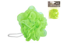 Мочалка для тела шар MSV зелeная