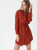 Платье HOUSE Коричневый vd510-92x