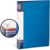 Birotic Express Папка с файлами BIROTIC Express А4/20 синяя