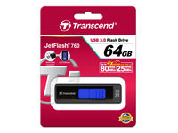 Flash Drive Transcend JetFlash 760 Black 64Gb