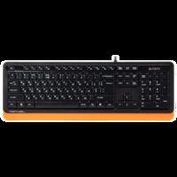 Клавиатура A4Tech FK10 Black Orange