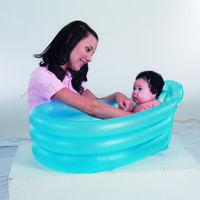 Надувной бассейн для младенцев 79х51х33 см # 51113B арт. 21830