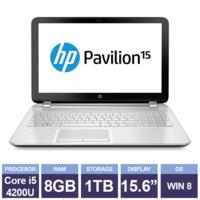 Ноутбук HP Pavilion 15-n098sa White