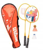 Set badminton (2 palete + 2 fluturasi + husa) Wilson Junior Kit WRT8756003 (5248)