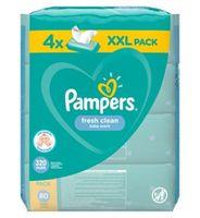 Влажные салфетки Pampers Fresh Clean 4x80 шт/блок