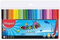 MAPED Фломастер MAPED Ocean, 24 цветов