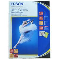 A4 EPSON Ultra Glossy Photo Paper A4 (300 g/m2)
