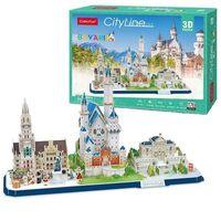 CubicFun пазл 3D City Line Bavaria