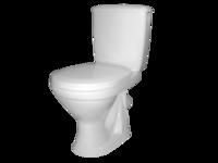 cumpără WC+Rezervoar Combo SUPERCOMPACT alb A Econom 45° în Chișinău