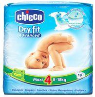 Chicco подгузники maxi 4, 8-18 кг,19 шт