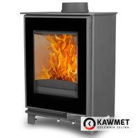 Soba din fontă KAWMET Premium S17(P5) Dekor 4,9 kW