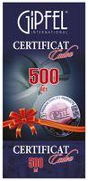 Certificate Cadou