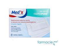 Pansament-emplastru steril hipoalergic 10cmx15cm N5 (Med'S)(1206321015M) TVA20%