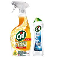 Cif Power  Shine, 750 мл + подарок