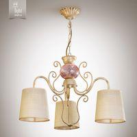 купить N&B Light Люстра Санта-Мария 14503-1 блестящий беж, крем/золото в Кишинёве