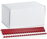 ARGO Пружина пластиковая ARGO A4/6мм, 100 штук, красная