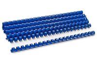 DELI Пружина пластиковая DELI A4/12.5мм, 100 штук, синяя