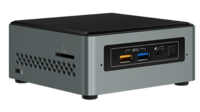 "Mini PC (Barebone) Intel® NUC Kit NUC6CAYH (Intel® Celeron J3455 4C/4T, 1.5-2.3GHz, 2x SO-DIMM DDR3L-1600(max8GB), 1x2.5"" SATA, 1xM.2 PCIeX1, Intel® HD Graphics 500, VGA, HDMI, SD CardReader, 4xUSB 3.0, 2xUSB 2.0, 1xGbE LAN, WiFi /BT4.2, IR, S/PDIF)"