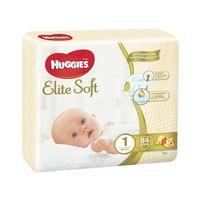 Подгузники Huggies Elite Soft 1 (<5 кг) 84 шт
