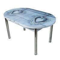 Стол раздвижной Овальный 1009