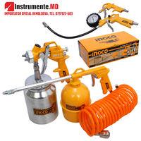 Набор для компрессора INGCO Air Tools 5Pcs Set AKT0051