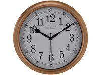 Часы настенные круглые 29cm, H3.8cm с 2 шкалами, минуты-секу