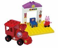 """Конструктор BIG """"Peppa Pig"""" """"Железнодорожная станция"""" 15эл. 57072"""