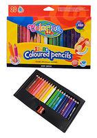 Цветные карандаши 8.9 см 20 шт. Jumbo Colorino