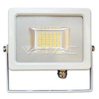 Прожектор LED V-Tac — 20W White Body SMD 4500K VT-4820