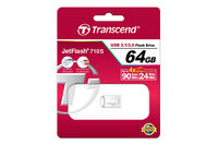 Flash Drive Transcend JetFlash 710S Silver 64Gb