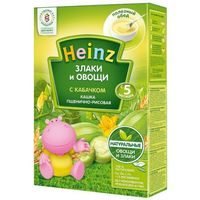 Heinz каша рисово-пшеничная безмолочная,  5+мес. 200г