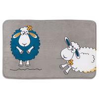 Коврик для ванной комнаты 50x80 см FUNNY SHEEP ULTRA SOFT 14947