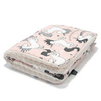 Одеялко LaMillou Unicorn Sugar Bebe – Ecru (100x80 cm)