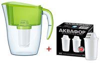 Фильтр-кувшин для воды Aquaphor СМАЙЛ + 2 картриджа(A5+Mg)