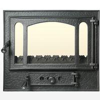 Дверца чугунная со стеклом Weekend - Panoramic mare