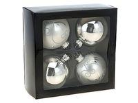 cumpără Set globuri p-u brad in cutie, 4X70mm în Chișinău