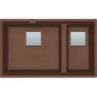 Мойка Franke Kubus sottotop KNG 120 Fragranite Copper Gold