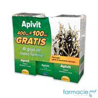 Apivit sirop 200ml (Actie:2x200ml+100ml Gratis) Infomedica