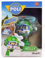 Robocar Poli 83048 Игрушка-трансформер Хэли (7,5 см.)